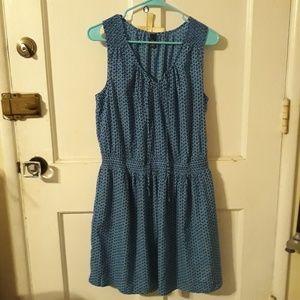 Gap Smocked Dress L